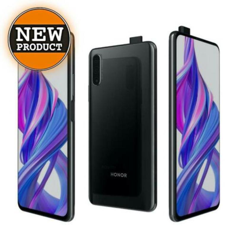 Honor 9X 128GB Midnight Black | NIEUW/GESEALD IN DOOS | bon