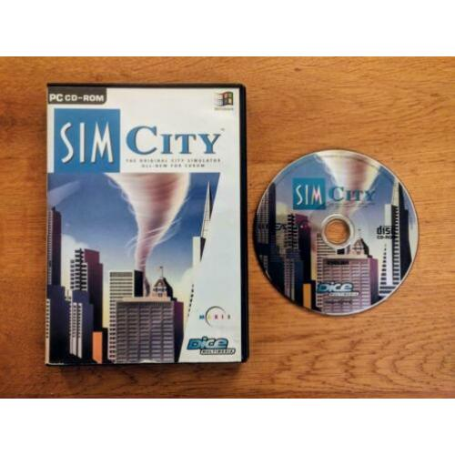 SimCity 1 The Original City Simulator All-New For CDROM
